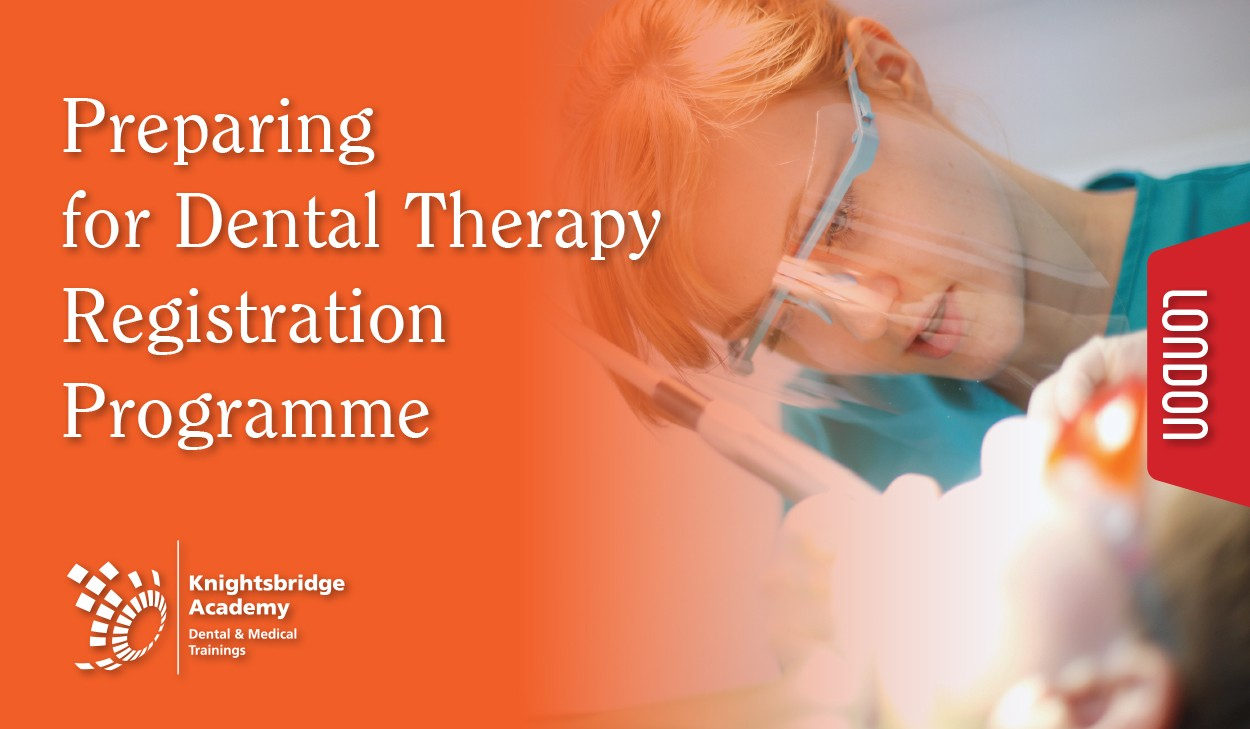 PREPARING FOR DENTAL THERAPY REGISTRATION PROGRAMME